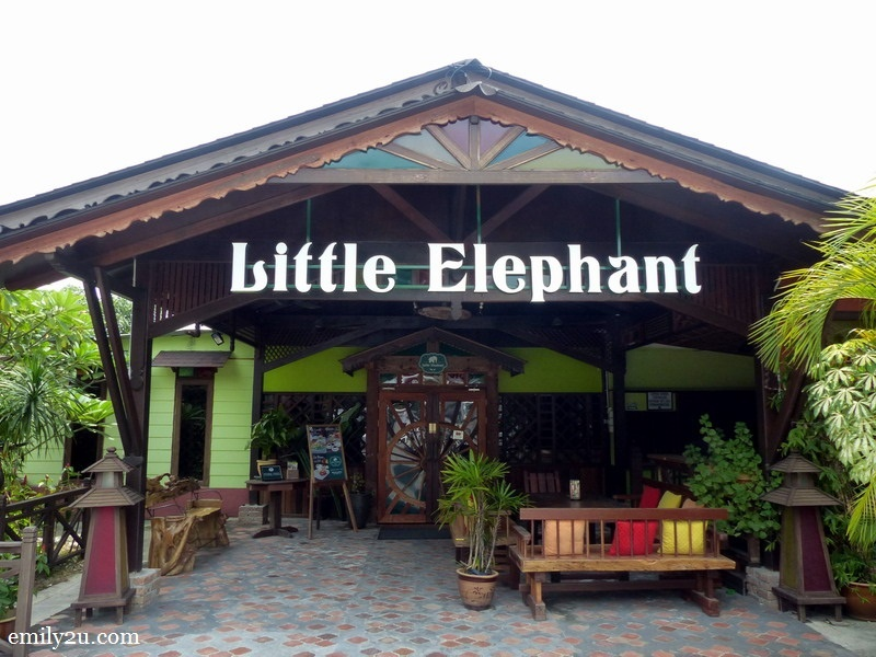 2. entrance to Little Elephant