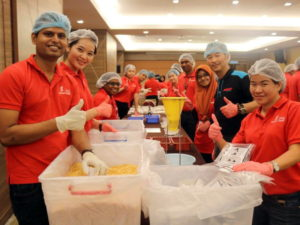 Sunway Lost World Stop Hunger Now