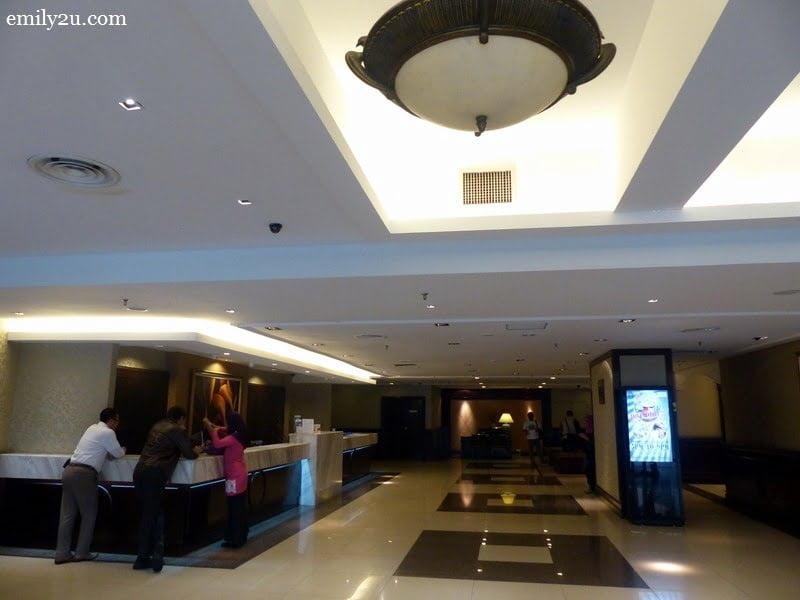 2. the lobby
