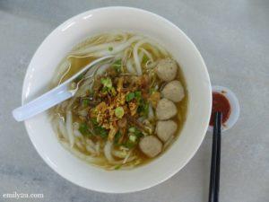 Hakka Loh See Fun soup
