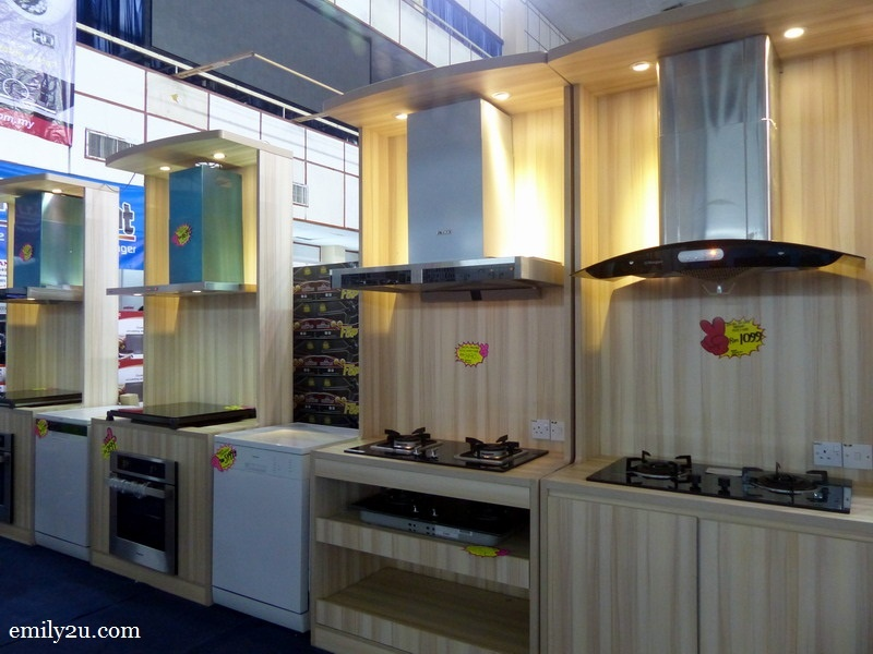 5. a new range of Panasonic hoods & hobs for your kitchen