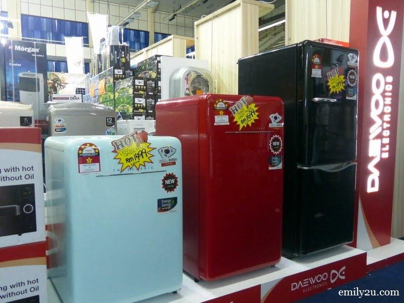 4. classic Daewoo refrigerators