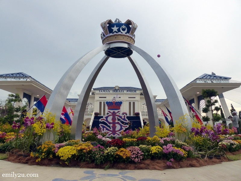 7. Royal Garden: Fly Your Flag High, Johor
