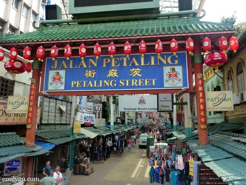 6. Petaling Street in Chinatown