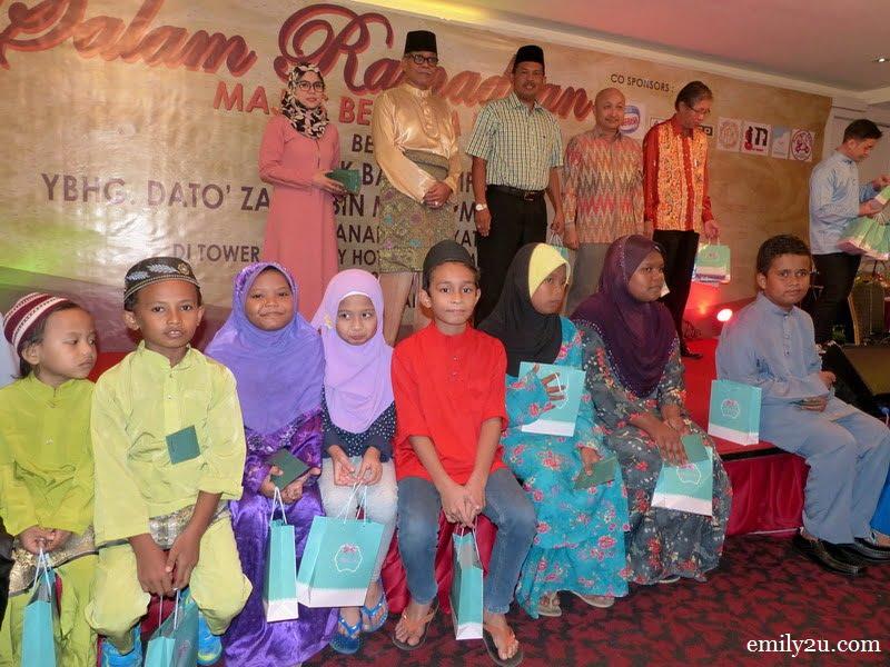 6. children from Pusat Harian Kanak-Kanak Spastik