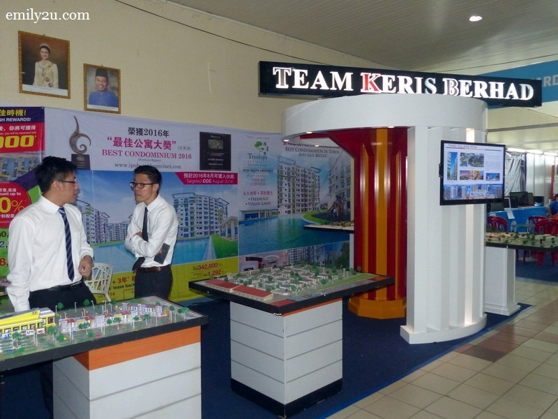 7. Team Keris booth