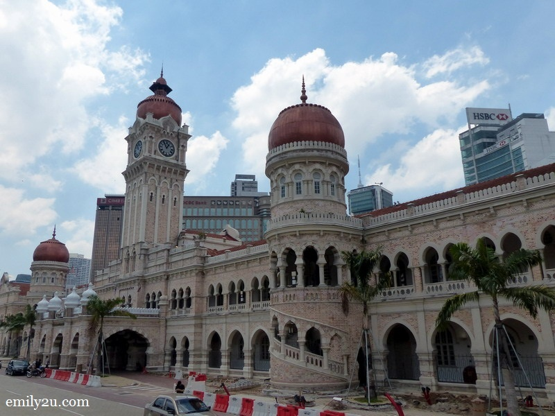 8. Sultan Abdul Samad Building at Dataran Merdeka