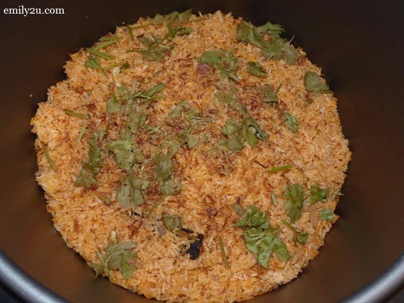 9. tomato rice