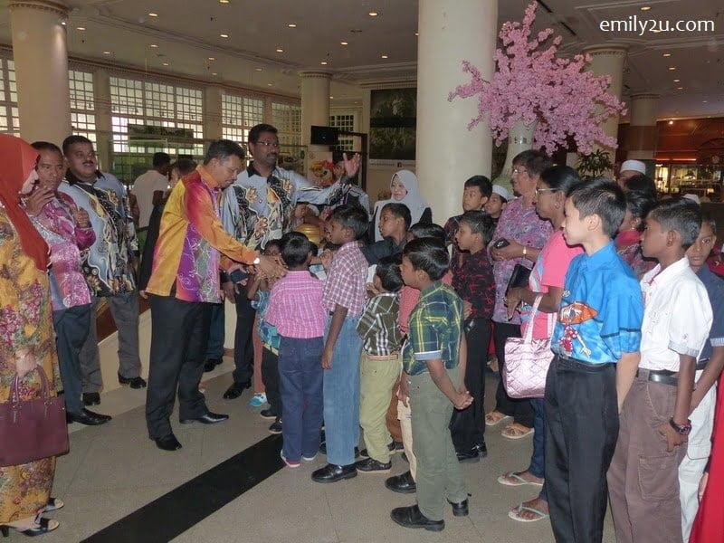 1. Ipoh City Mayor Datuk Zamri Man arrives