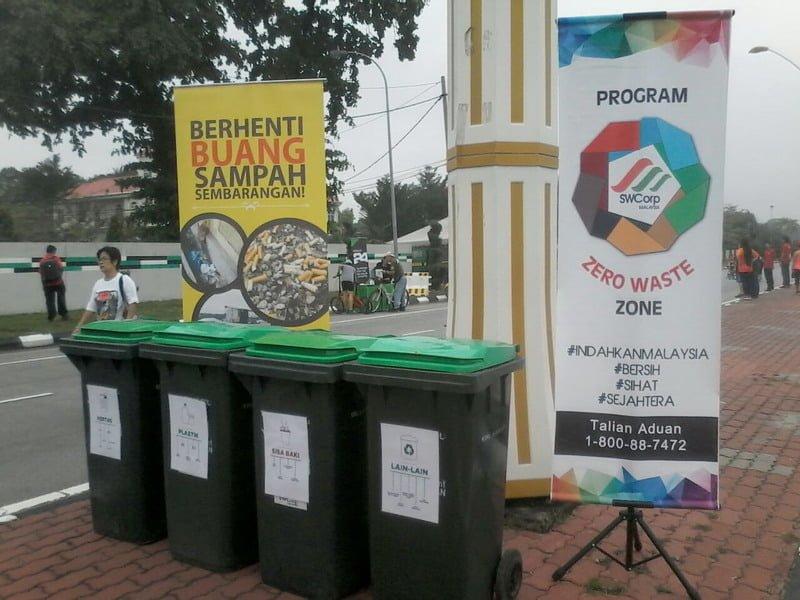 2. recycling corner