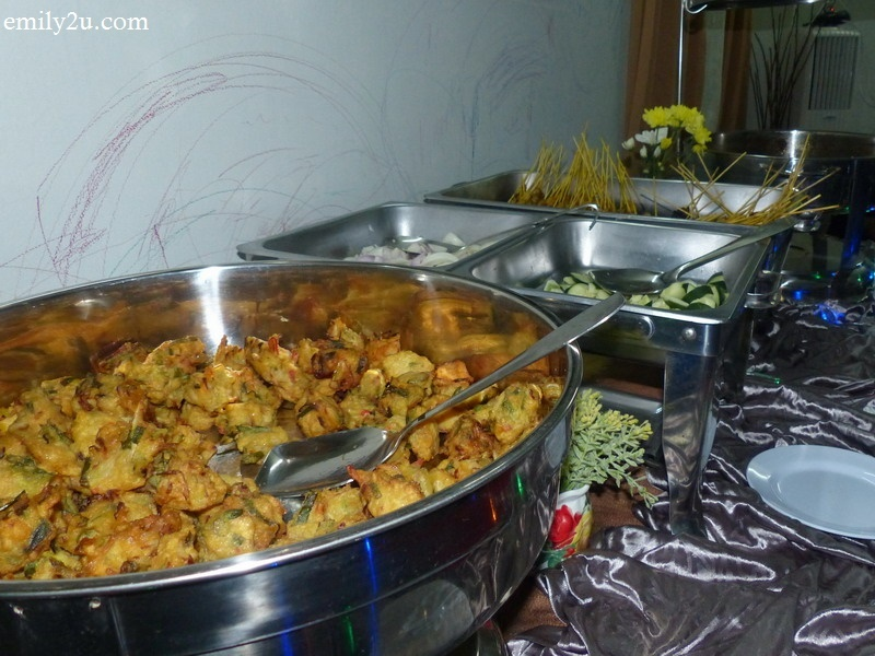 2. a section of the buffet spread