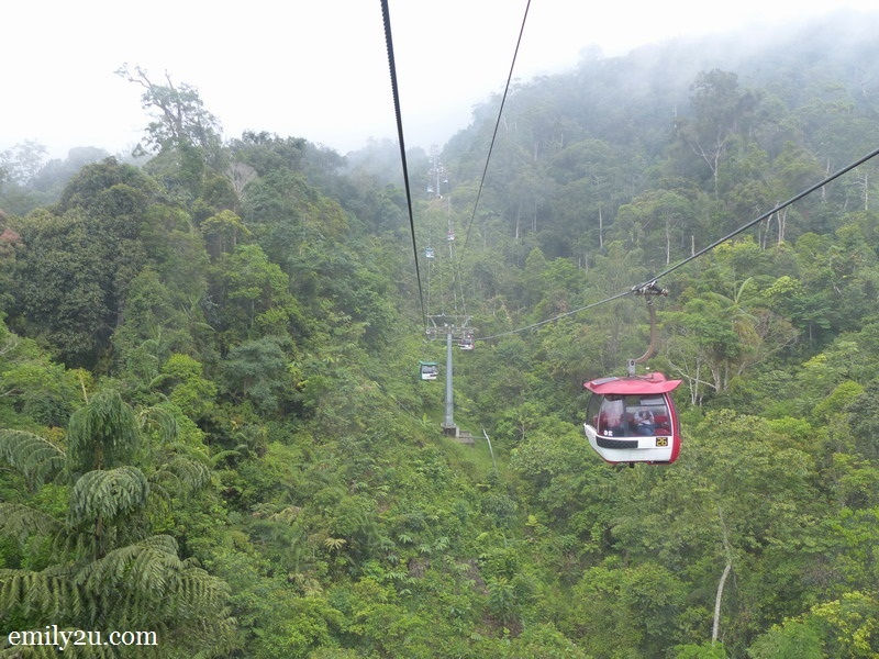 2. Skyway cable cars