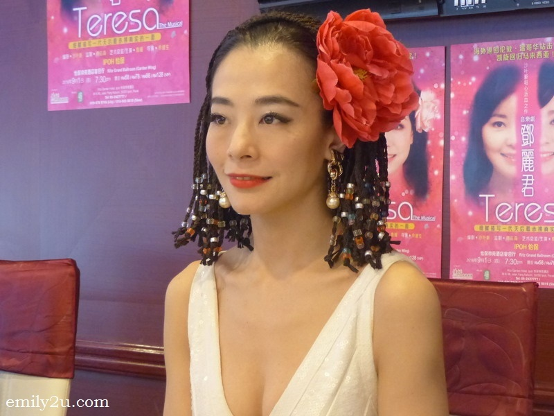 2. theatre actress Perry Chiu Woon