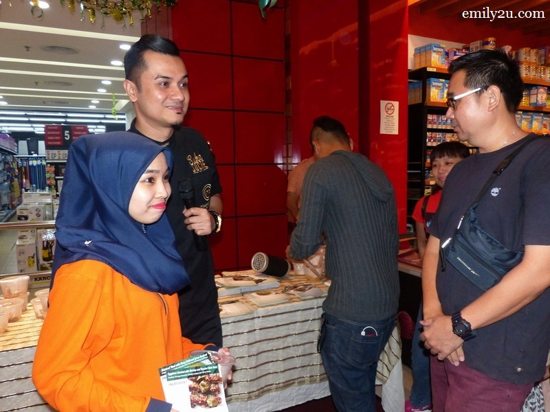 4. a fan takes the opportunity to snap a photo with Dato' Fazley