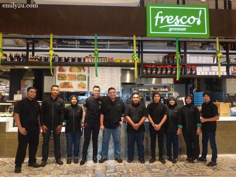 6. group shot with the crew of Fresco Grocerant