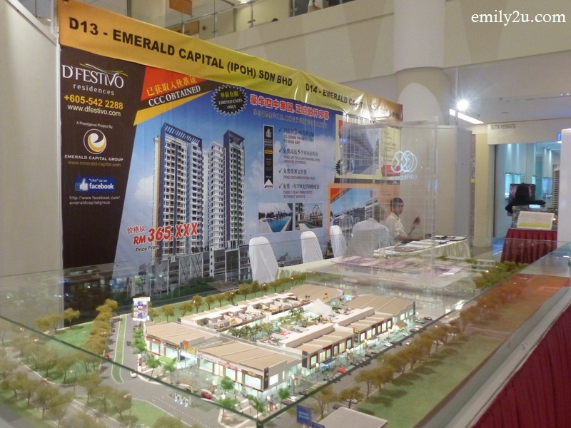 6. an architectural scale model of D'Festivo Residences
