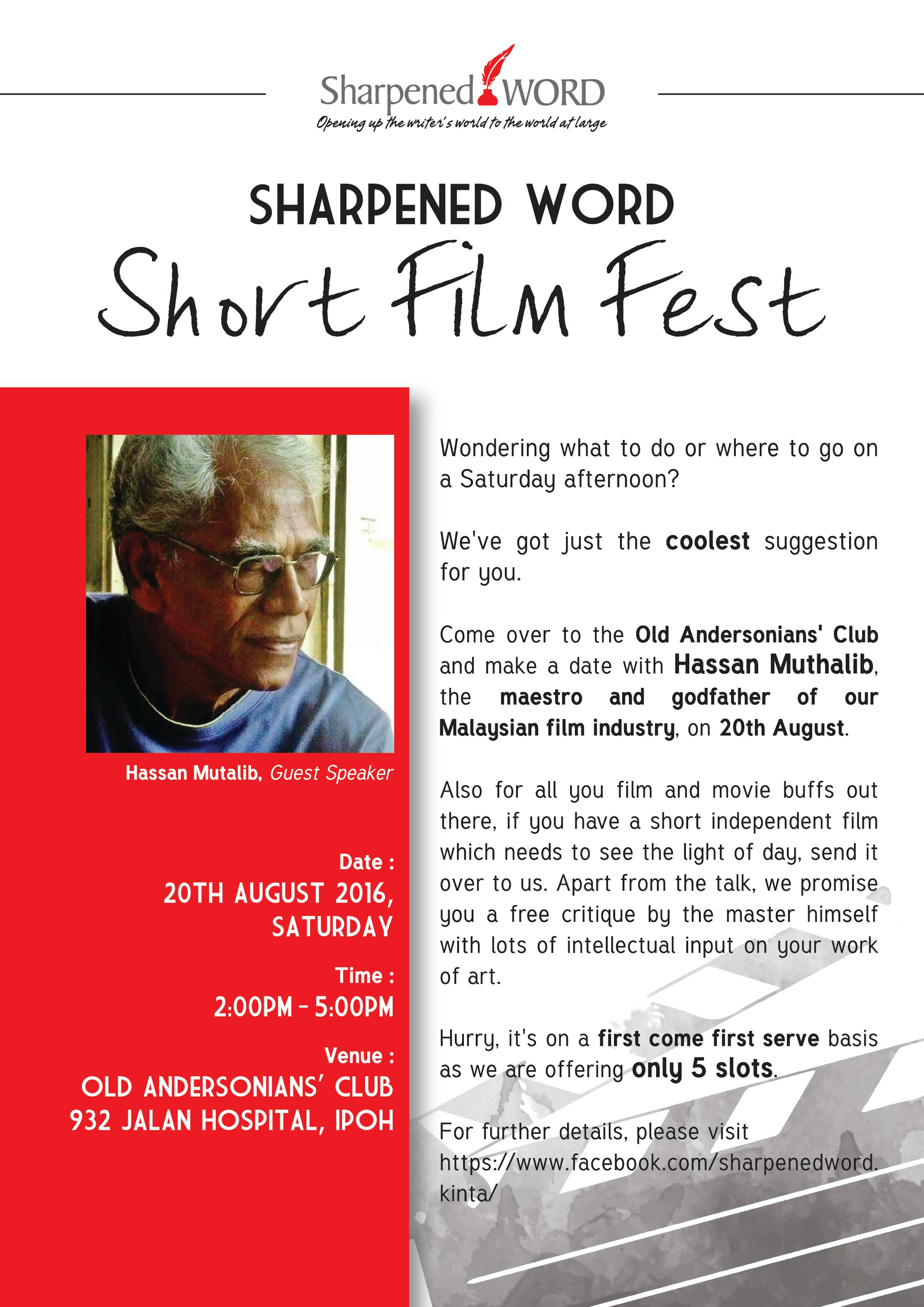 Sharpened Word Short Film Fest
