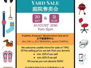 TIMS Yard Sale