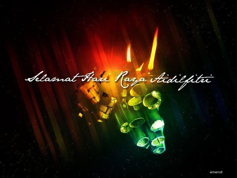 Selamat Hari Raya Aidilfitri (image credit: Amenot)