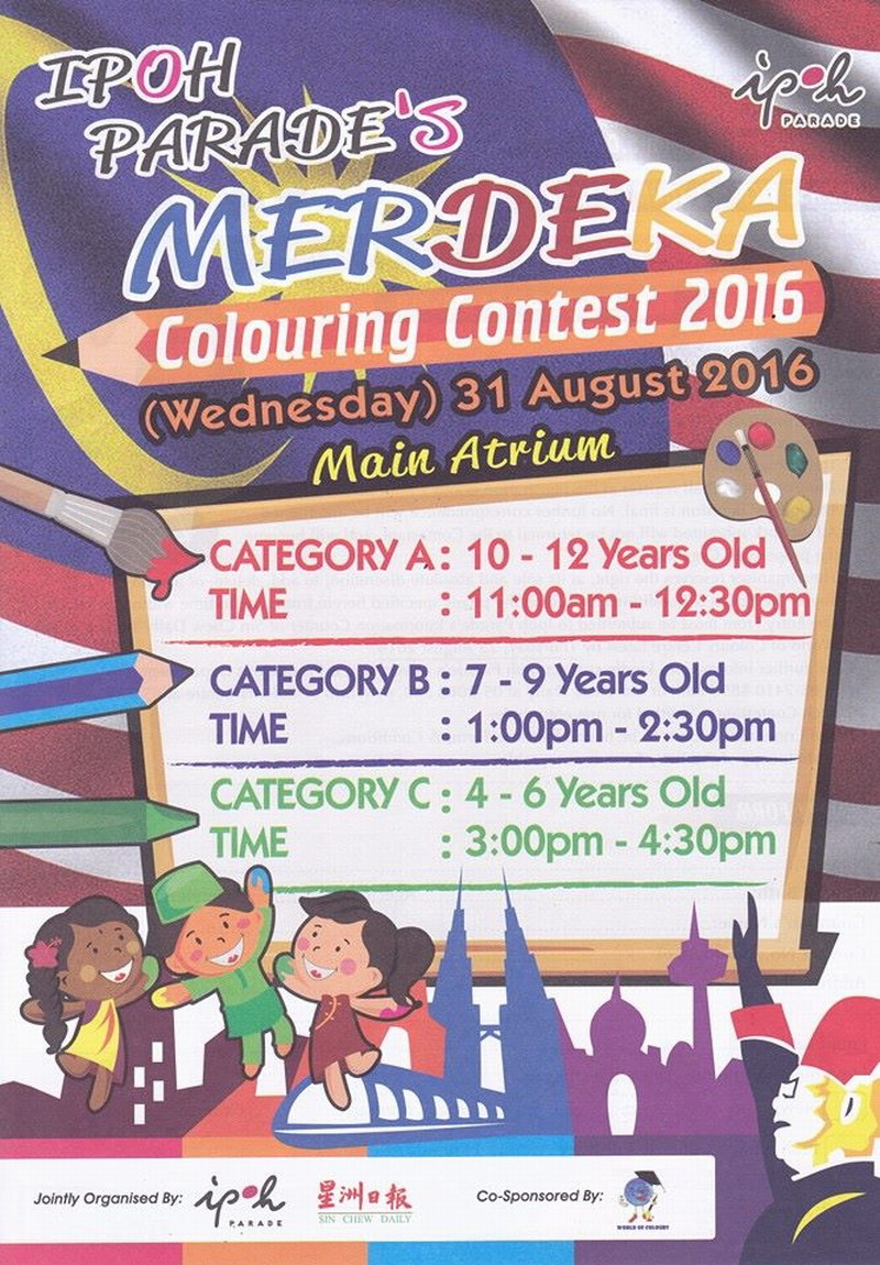 Merdeka Day colouring contest