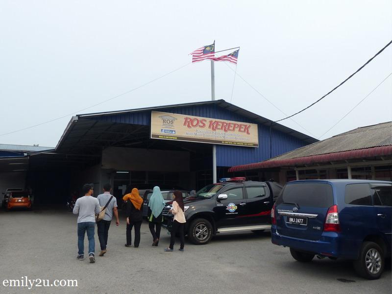 1. Ros Kerepek snack factory in Banting, Selangor