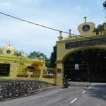 The Royal Mausoleum of Almarhum Sultan Abdul Samad on Jugra Hill