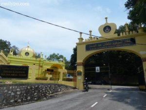 1. entrance to the Royal Mausoleum of Almarhum Sultan Abdul Samad