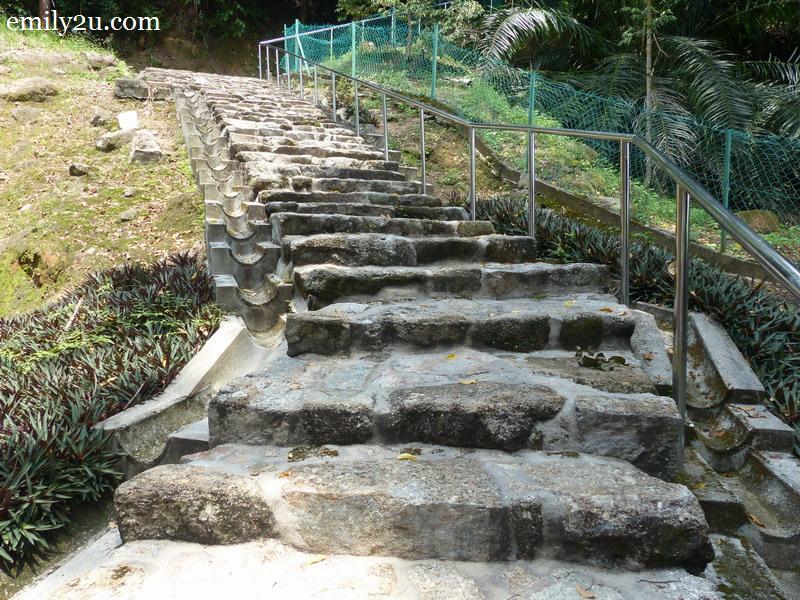 10. stone steps