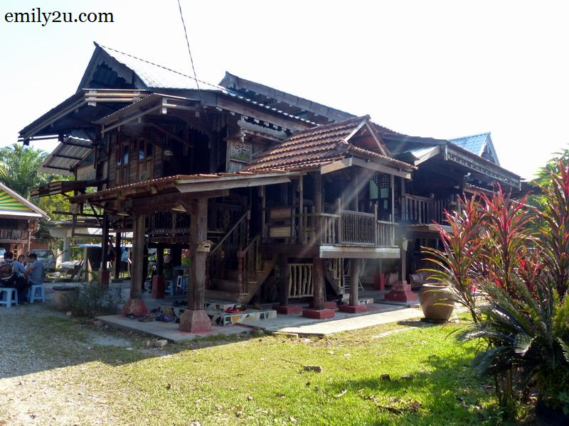 11. a traditional Malay house