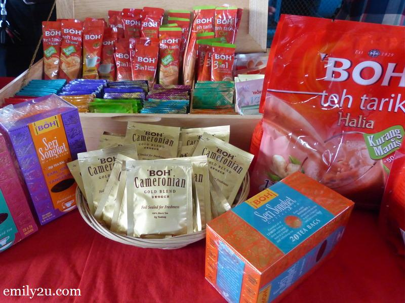 17. some of BOH's retail products