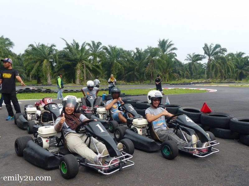 2. let's try go-karting
