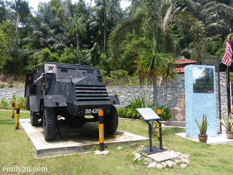 2. armoured personnel carrier GMC 15 CWT