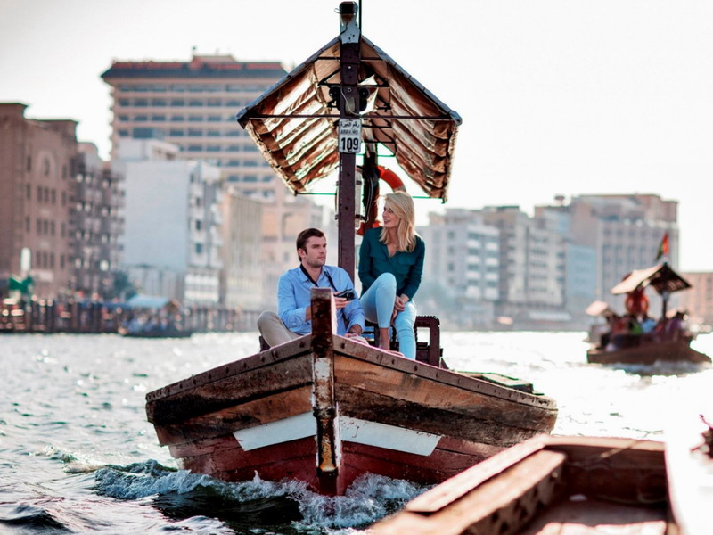 3. Abra across Dubai Creek