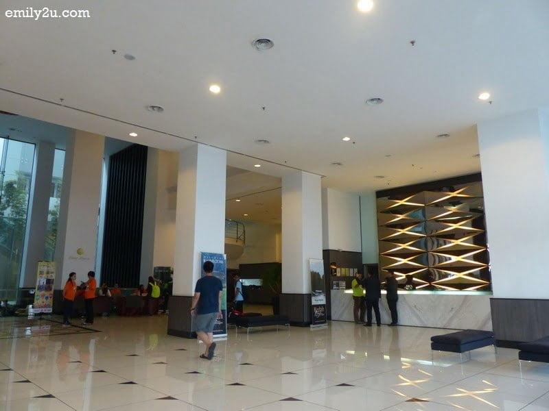 3. Grand Alora Hotel lobby