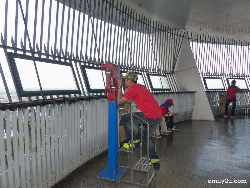 3. the observation deck