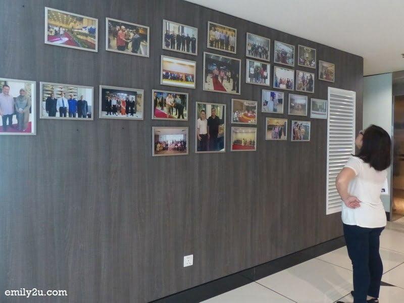 4. photo wall