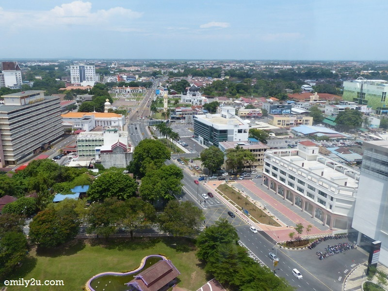 4. an unobstructed view of Alor Setar city