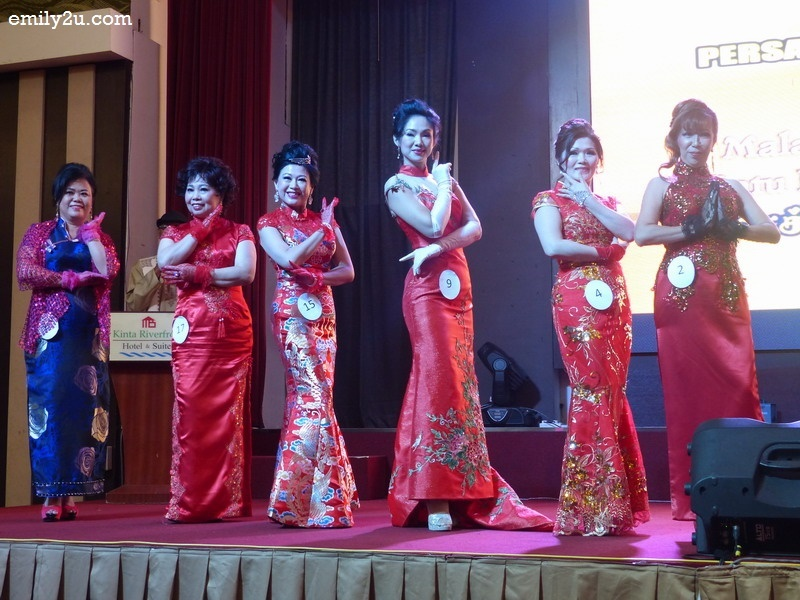 4. six contestants for Miss Cheongsam