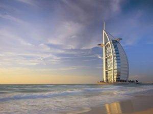 Burj Al Arab and Jumeirah Beach