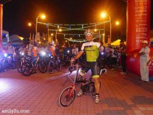 5. cyclist with a steel leg