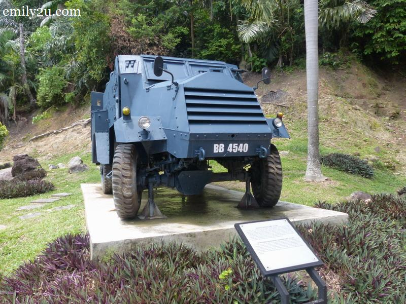 5. armoured personnel carrier GMC 15 CWT