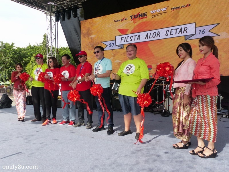 7. launch of Fiesta Alor Setar