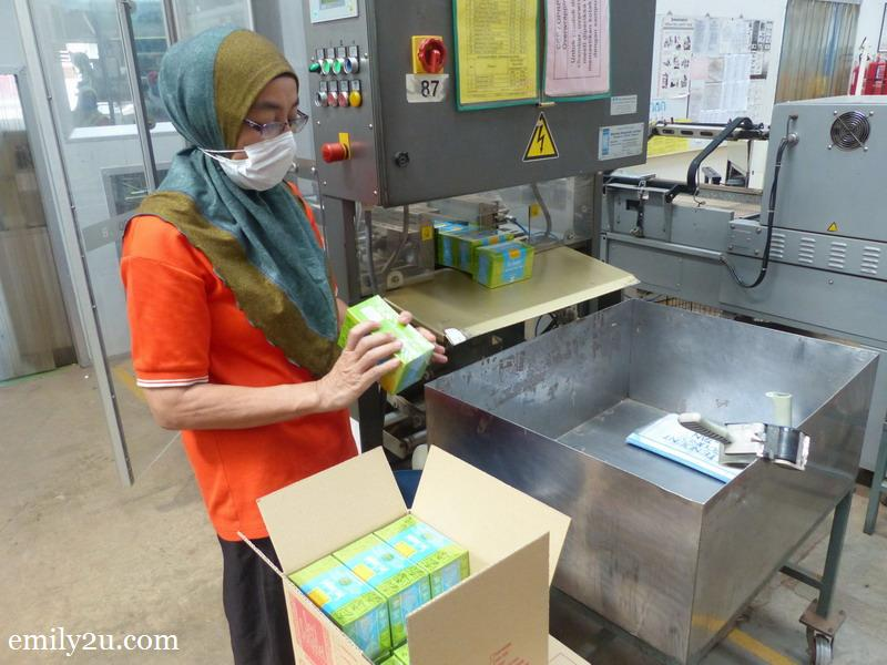 9. packing BOH products