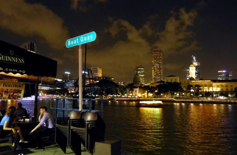 Boat Quay / Clarke Quay, Singapore