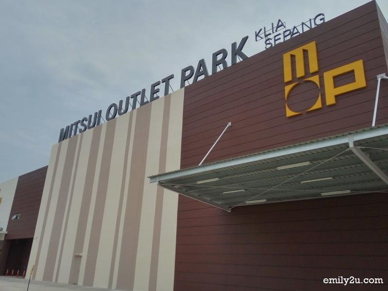 Mitsui Outlet Park, KLIA Sepang