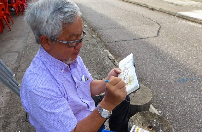 Urbansketchers Singapore: Dr Lim Su Min