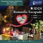 The Haven Suite Promotions: 3D / 2N Family Escapade or Romantic Escapade