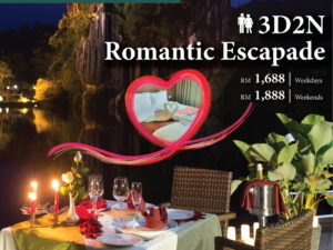 3D / 2N Romantic Escapade