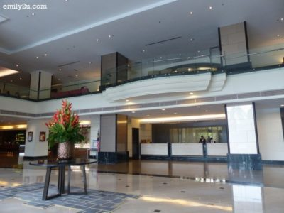 1. lobby of Concorde Hotel Shah Alam