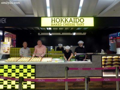 1. Hokkaido Baked Cheese Tart @ AEON Kinta City Mall, Ipoh